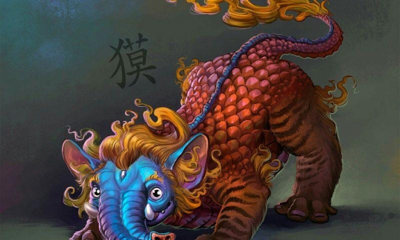 Баку — химера с телом медведя из японской мифологии.
